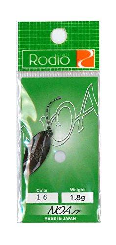 Rodiocraft(ロデオクラフト) ルアー NOA(ノア) 1.8g #16 チョコレート スプーン