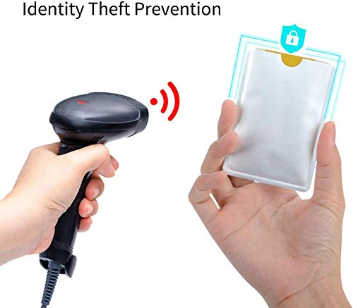 RFID Blocking Sleeves 10 Credit Card and 2 Passport Protectors Photo #3