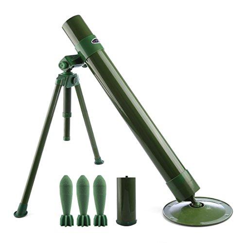 QZY Worker Tactics Mortar,60mm Caliber Foam Soft Bullet Launcher for Nerf CS Battle