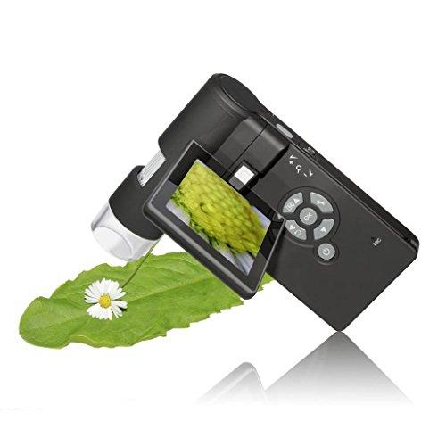 Neue tragbare 500x Handheld 7,6cm Display LCD Desktop Digital Mikroskop Digital Mobile Mikroskop 5MP Kamera w/Faltbare