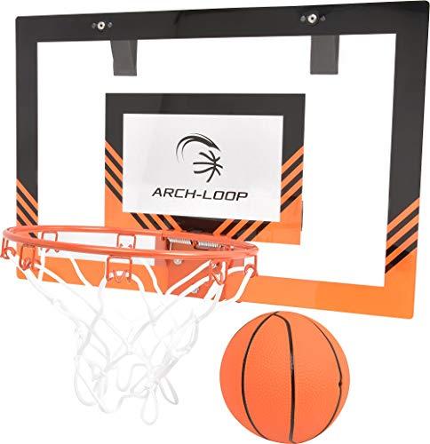アーチループ(ARCH-LOOP) ミニバスケットゴール 壁掛け ドア掛け 45.8cm×30.5cm ボール ポンプ付 46404Y