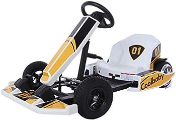 Uluiky Electric Kart Racing Scooter with Flashing Lights