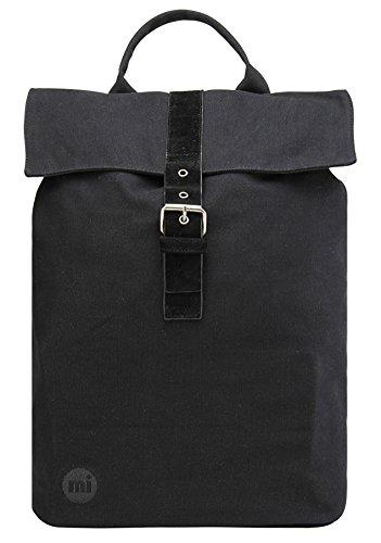 Mi-Pac Canvas, Unisex-Erwachsene Daypack schwarz schwarz Einheitsgröße