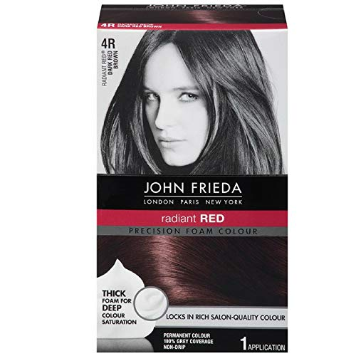 Price comparison product image John Frieda Precision Foam Colour 4R Dark Red Brown (3 Pack)