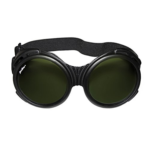 ArcOne The Fly Safety Goggles - Full Coverage Round Lens (IR5 Lens Plain Finish)