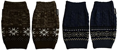 Muk Luks Women's Boot Toppers, Multi, One Size fits Most