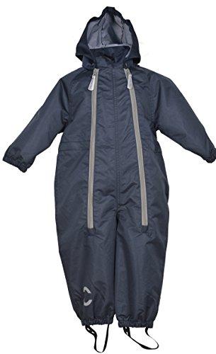 mikk-line mikk-line Baby-Jungen Sommer-Regenanzug (5000) Regenjacke, Blau (Blue Nights 287), 92