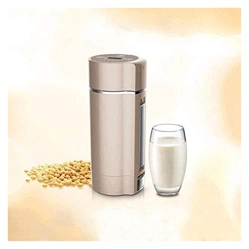 XIAOGING Exprimidor Mini automático de leche de soja de soja fabricante de leche portátiles Frijoles Grano molinillo de una máquina Blender-blanco-us acero inoxidable exprimidor bebé Alimentación 220v
