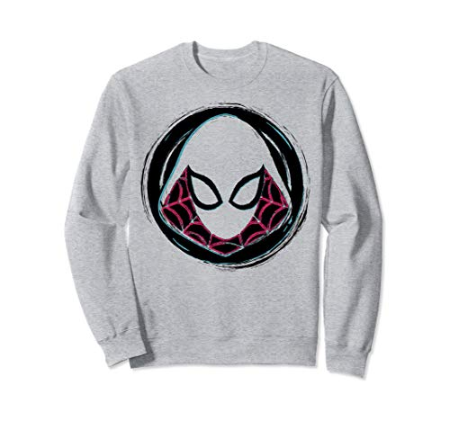 Marvel Spider-Gwen Face Symbol Badge Sweatshirt