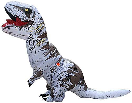 Eupaja - Disfraz inflable de dinosaurio para adulto, disfraz de Navidad, cosplay,...