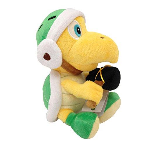 Yijinbo Hammer Bro Super Mario Bros Koopa Troopa Schildkröte Plüschtier Stofftier 20,3 cm