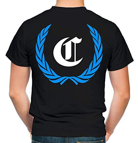 Chemnitz Kranz T-Shirt | Liga | Trikot | Fanshirt | Bundes | M1 (XXL)