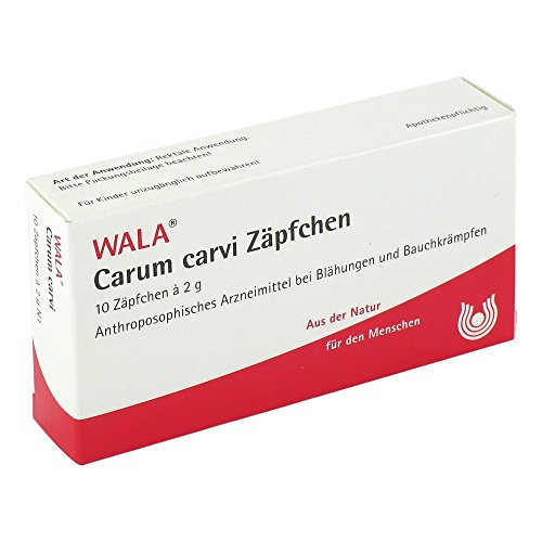 CARUM CARVI Zäpfchen 10X2 g Suppositorien 20 g Suppositorien