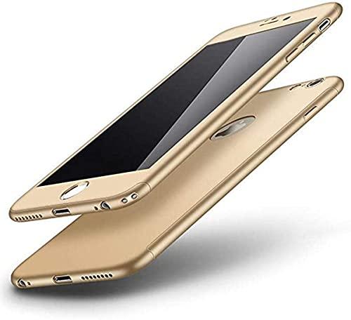 Gadgets Mafia - Carcasa para iPhone XS MAX XR 6S 7 8 Plus 5S, diseño de mármol, policarbonato plástico, Dorado, iPhone 5/5S