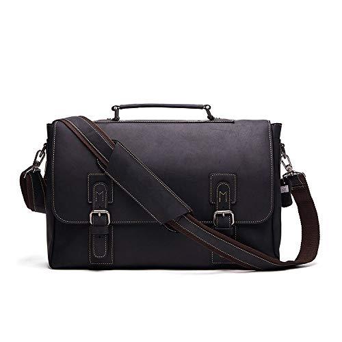 Herenmode schouder diagonaal pakket, ongevoelig Italiaanse koeienleer handtas mannen, mode, reis-laptoptas business tas voor mannen werk