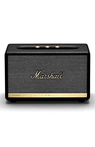 Marshall Acton II Voice Wireless Bluetooth Speaker with Amazon Alexa - 1002493 (Renewed)