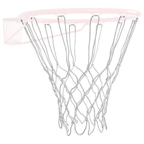 Basketballnetz für Basketballkorb Basketball Netz gute QUALITÄT 40 cm weiß