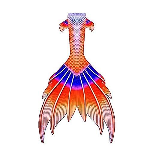 Cola De Sirena, Disfraz De Sirena Princesa, Tops De Verano para Mujer, Disfraz De Sirena Cosplay, Regalo para Mujer Bikini niña Cola de Sirena (Color : Style-J, Size : Tailored)