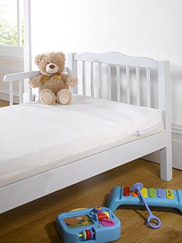 Del bebé - se puede calentar en el marco de madera casco de bicicleta para niño infantil con diseño de la cama y espuma con funda extraíble colchón para cama de adulto 140 cm x de 70 x 7,5 cm