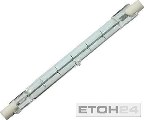 Preisvergleich Produktbild Scharnberger+Has. Halogenstab 118mm 42761 Import R7s 240V 100W Hochvolt-Halogenlampe ohne Reflektor 4034451427617