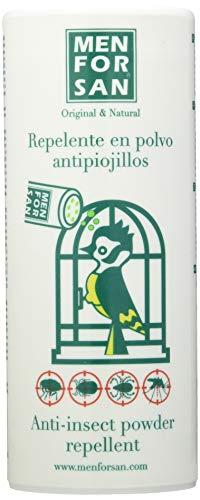 MENFORSAN Repelente Natural en Polvo Antipiojillos con Margosa - Pájaros 250 Grs 🔥