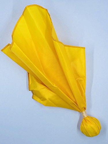 """Flags 'N Bags Professional Football Penalty Flag Gold 15"""" Single Band Waterproof Gold Ball Ribstop Nylon Made in USA Patent NFHS Approved High School College Lacrosse Official Referee"""
