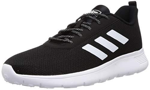 Adidas Men's Throb M Black A0QM/ White 01F7 Running Shoes- 7 UK (41 EU) (7.5 US) (CM4885)