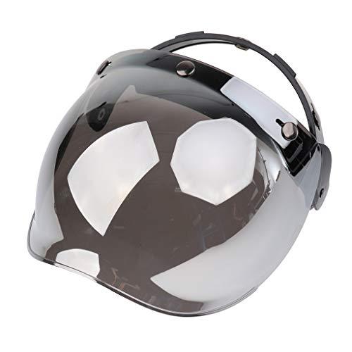 Visiera Bolla Bubble 3 Bottoni Snap Parabrezza Antinebbia Per Casco Moto Bonanza Biltwell