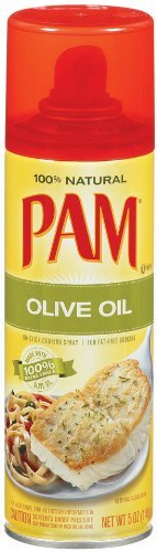 PAM OLIVE OIL COOKING SPRAY 5oz 6pack by PAM