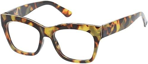 Peepers Women's Shine On - Blue Light Filtering Square Reading Glasses