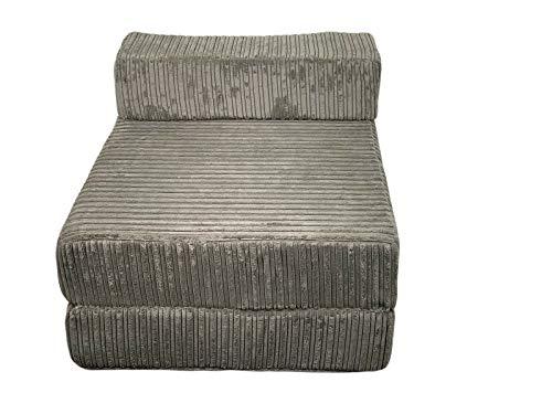 IKB Sofá plegable Z cama individual Jumbo cordón sofá colchón hogar sofá asiento silla plegable
