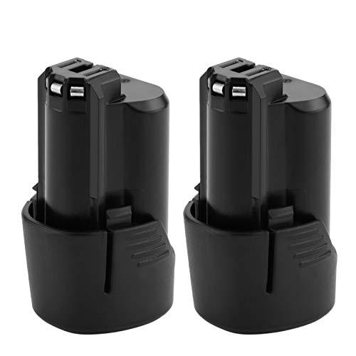 2x Exmate litio Batteria 10.8V 3000mAh per Bosch BAT411 BAT411A BAT412A 2607336013 2607336014
