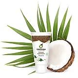Tropicana Oil Hand Creme mit Kokosöl Thai Jasmine 50g | Feuchtigkeitspflege für schöne Haut Handlotion mit Kokosöl | Glutenfrei & ohne Tierversuche | Natürliche Handpflege