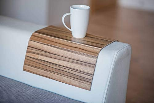 Wood Sofa arm Tray Protectors armrest Table Sofa Table Coaster Sofa Tray tv Tray 5 Palandau product image