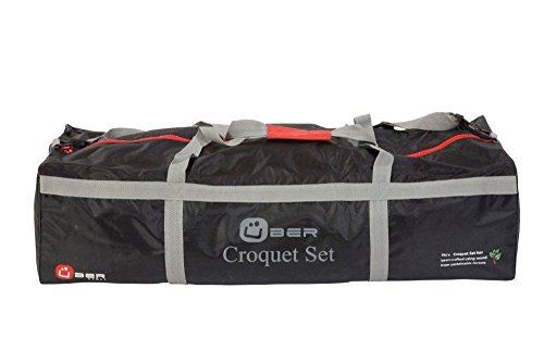 Uber Games Carrying Bag for 9 Wicket Croquet Set - Nylon - 4 Player