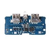 chenpaif 5V 2A Dual USB 18650 Litio Power Bank Placa de Carga Circuito Módulo intensificador