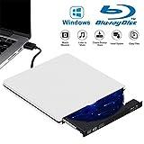 Tokenhigh Blu Ray 4K 3D Grabadora CD/DVD Externa,...