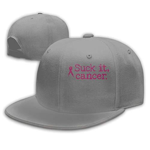 XaMiner Saugen Sie es Krebs Männer/Frauen Mode verstellbare Baseballkappe Snapback Trucker Hut