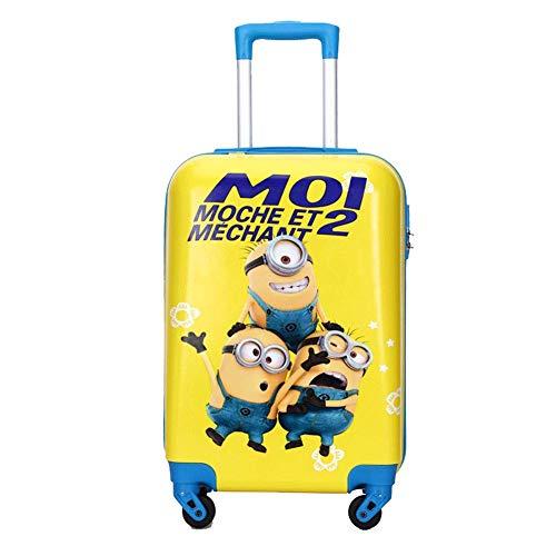 Kinderbagage, koffer hard shell koffer lichtgewicht ABS 4-wiel, kinderen koffer, lichtgewicht kinderen handbagage, 20 inch