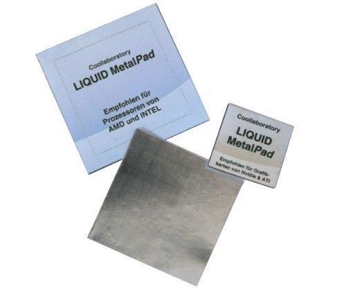 Cool laboratory Liquid MetalPad 1 x CPU almohadilla térmica