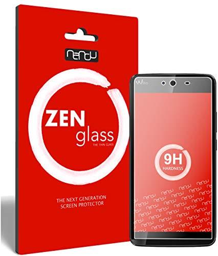 ZenGlass (2 Stück Flexible Glas-Folie kompatibel mit Wiko Rainbow Jam Panzerfolie I Bildschirm-Schutzfolie 9H I (Kleiner Als Das Gewölbte Bildschirm)