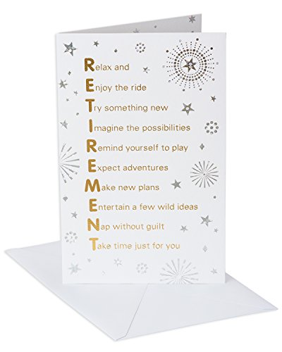 American Greetings Retirement Card (Time of Your Life)