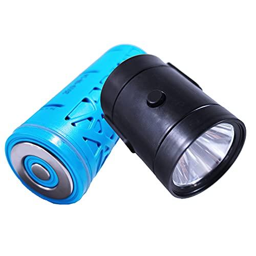 AOTEGANG Linterna LED Nueva batería de Agua respetuosa con el Medio Ambiente Linterna de Emergencia Manivela, Banco de energía de 11000 mAh, para emergencias por Huracanes, Senderismo, hogar y más
