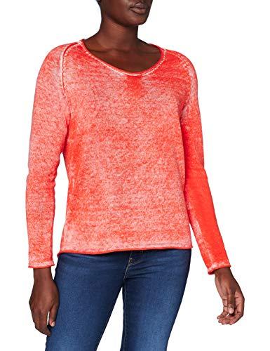 Cecil Damen B301284 Pullover, Funky orange, Large
