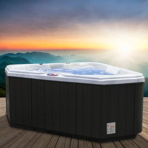 American Spas Hot Tub AM-628TS 2-Person 28-Jet Triangle with Free Cover