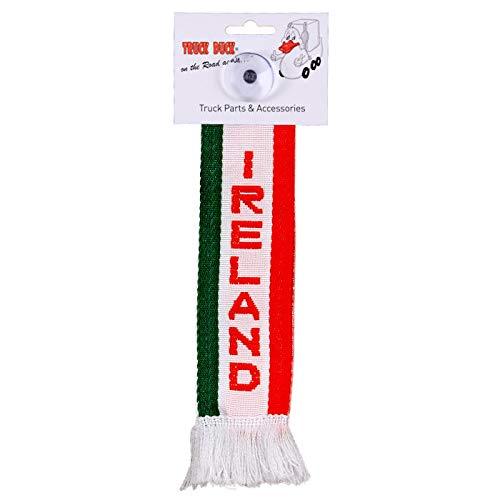 TRUCK DUCK® LKW Auto Minischal Irland Ireland Mini Schal Wimpel Flagge Fahne Saugnapf Spiegel Deko