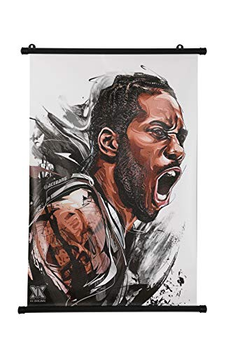 MoMoAma Basketball Player Oil Painting/Wall Poster 16' x 24' Inch