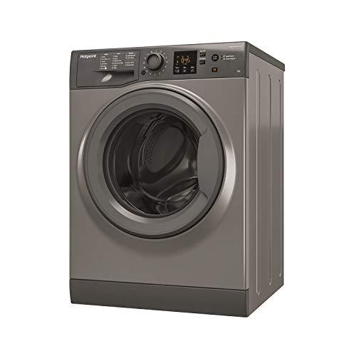 HOTPOINT NSWM863CGG 8kg 1600rpm Freestanding Washing Machine - Graphite