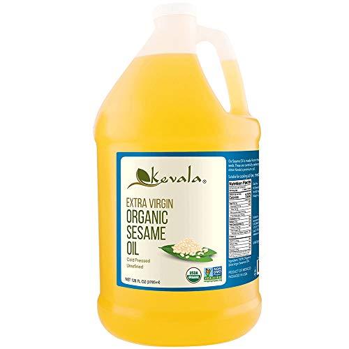 Kevala Organic Sesame Oil, 128 Fluid Ounce