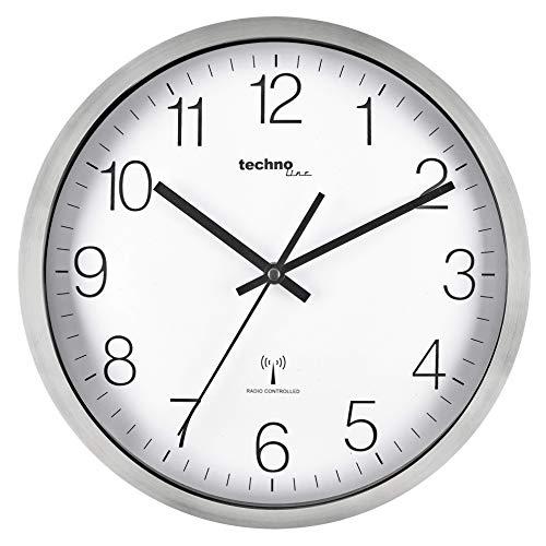 Technoline WT8910 Horloge Murale Radio-pilotée 30